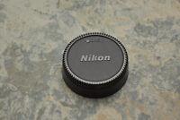 Genuine Nikon NIKKOR LF-1 Rear Lens Cap F Mount AF-S AF Ai-S (#2797)