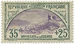 """FRANCE N°152 """"AU PROFIT DES ORPHELINS DE LA GUERRE, 35 C + 25 C"""" NEUF xTB"""