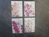 2011 THAILAND ORCHIDS SET OF 4 MINT STAMPS MNH