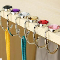 DIY Foldable Folding Crystal Alloy Purse  Hook Hanger Bag Holder Handbag~.Pro