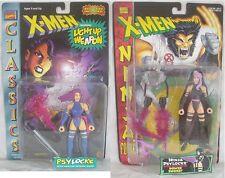 Psylocke Classics, Ninja Force X-Men Marvel Toy Biz action figure - Lot