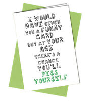 #977 Birthday Card Funny Rude Witty Wife Best Friend Wife Partner 40th 50th 60th