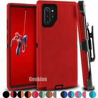 For Samsung Galaxy Note 10 10+ Protective Shockproof Hard Case Cover Belt Clip