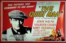 The Quiet Man John Wayne Motif 3 Metal Tin Sign 7 7/8x11 13/16in