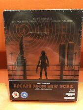 SOLD OUT JOHN CARPENTER'S ESCAPE FROM NEW YORK 4K ULTRA HD STEELBOOK BLU-RAY 3