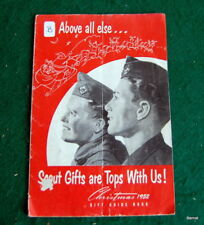 BOY SCOUT - CHRISTMAS 1952 EQUIPMENT CATALOG - 22 PAGES