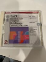 Bart¢k: Piano Concertos; Violin Concerto No. 2; Concerto for Orchestra (CD,...