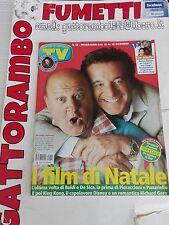 Tv Sorrisi e Canzoni n.50 Boldi-De Sica anno 2005 - Mondadori buono