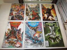 Earth 2, Worlds End, New 52 #s 1-26 Complete Run, Justice Society Of America Hot