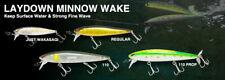 Nories Laydown Minnow Wake 110 & Wake 110 Prop - Large Variety of Colours