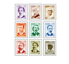 KUB9611 National heroes 9 pcs