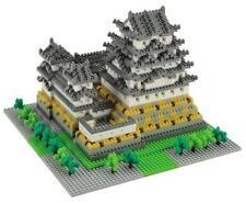 Nanoblock Deluxe Himeji Castle 2200 Pieces Micro Building Blocks Brand New