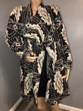 Lucky Brand Woman's Cardigan Sweater Open Front Duster Size L