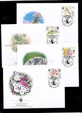 Serbia & Montenegro 2004 - FDC - Vlinders/Schmetterlinge/Butterflies (WWF/WNF)