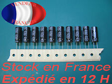 820uF 25V condensateur capacitor X 10   105°C marque/brand RUBYCON