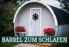 Campinghaus Schlaffass Holzfass Wochenendhaus Gartenhaus Barrel 383844