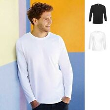 2x Herren Super Premium Langarm Longsleeve Long Sleeve T-Shirt Fruit of the loom