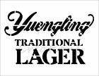 """""""YUENGLING"""" Beer Alcohol Logo 8.5"""" x 11"""" Stencil Plastic Sheet NEW S270"""