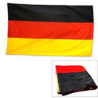 Fahne DEUTSCHLAND Flagge Flaggen Fahnen 90x150 mit Ösen Neu