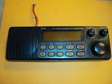 Icom Vhf Marine Transceiver IC-M126DSC front panel used working no microphone