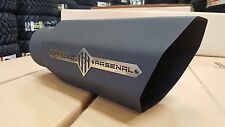 "OFFROAD ARSENAL 5"" INLET 7"" OUTLET 18"" OCTAGON DIESEL EXHAUST TIP MATTE BLACK L"