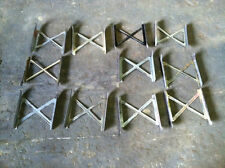 Military Tent Stove M1950 Yukon Parts-Legs (11) and Doors (7) as 1 Lot Used