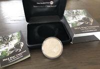 2013 Kiwi Treasures (Tane Mahuta) 1 TR/OZ .999 Fine Silver Proof Coin