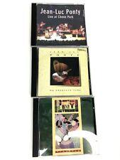 LOT 3 CD Jean Luc Ponty - Chene Park - Absolute Time - Tchokola