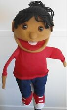 """puppet girl nita 15"""" Ventriloquist.Play,Educational.Moving mouth & hands"""