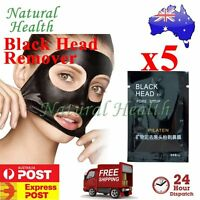 5x Pilaten Blackhead Black Head Remover Pore Cleansing Strip Mask Face Nose Acne