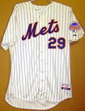 NEW YORK METS IKE DAVIS 2013 WHITE PINSTRIPE AUTHENTIC MLB JERSEY