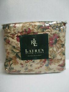 New Ralph Lauren Highgate Woods Floral Fitted Sheet - King