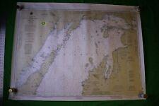 Lake Michigan North End - Green Bay 48x36 Vintage 1993 Nautical Chart/Map