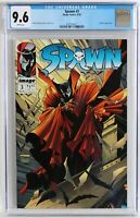 CGC 9.6 Spawn #3 White Pages Todd McFarlane Violator appearance