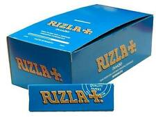1 Box Rizla Blue Cigarette Papers 50 Booklets=3000 papers
