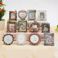 Creative Retro Mini Metal Photo Frame Key Chain Key Ring Charms Pendant Nice