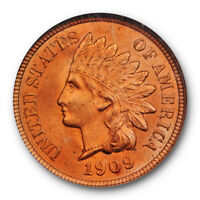 1909 Indian Head Cent NGC MS 65 RD Uncirculated Full Red Example Pretty !