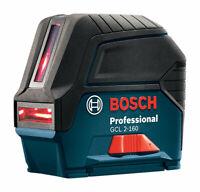Bosch  2 beam Self Leveling Cross Line Laser  165 ft. 8 pc.