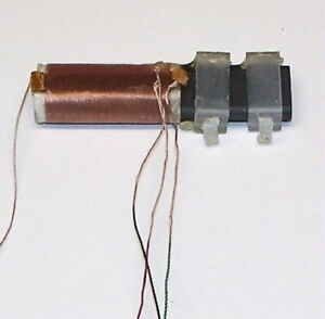 _ Hi-Q LITZ WIRE Loopstick antenna ferrite bar inductor transistor AM radio coil