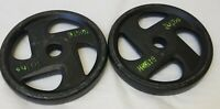 "Pair of 10lb Std 1"" Ignite Barbell Weight Plates (20lb total) SHIPS ASAP AS IS"