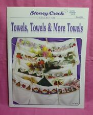 Stony Creek Collection ~  Cross Stitch Book #290 - Towels, Towels & More Towels