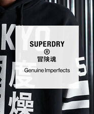 Superdry Mens Factory Second Overhead Hoodie - Lucky Dip