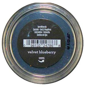 Bare Minerals Loose Powder Eyeshadow, Velvet Blueberry .02 Oz
