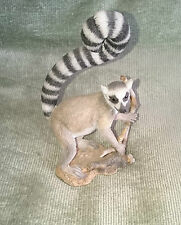 Ring Tailed Lemur - Country Artists - RARE - Joining Piece - Model No.04876