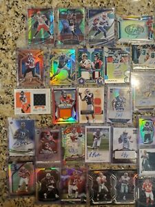 2014-21 Panini NFL Lot (171) Auto, RC, #/15- Brees, Bosa, Saquon, Kelce, Baker