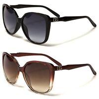 Retro Oversized Vintage Cat Eye Womens DG Eyewear Fashion Sunglasses