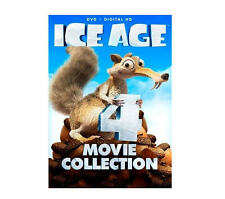 Brand New! Ice Age 4-Movie Set (DVD, 4-Disc Set) Includes Digital HD Download
