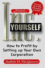 Inc Yourself, 10th Edition (Inc. Yourself: How to Profit by Setting Up-ExLibrary