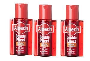 Alpecin Double Effect Shampoo 3x 200ml