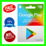 Google Play Gift Card 10 USD for USA accounts  24H 7 Days Easy to use No Taxes